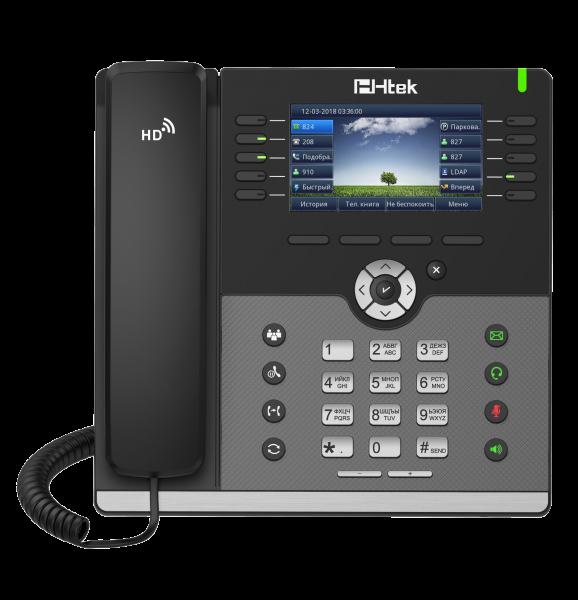 UC926E RU Гигабитный цветной IP-телефон с Bluetooth и WiFi